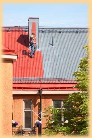 Nátěry střech rodinných domů Praha