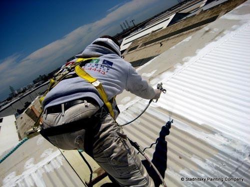 Natíráme střechy